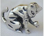 Licking cat silver miniature thumb155 crop