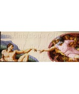 Fine Art Reproduction Michaelangelo CrossStitch Kit Creation - $70.00