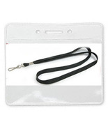 15 NECK LANYARDS+ 15 ID/BADGE HOLDERS Pick Colo... - $14.84