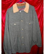 Nice Mens Aeropostale Wool Button Jacket Coat L - $18.50