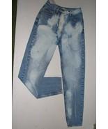 Ann Taylor  Junior Sz 4 Long Bleached Denim Jeans - $10.99