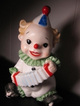 Figural Irice Clown Ceramic Night Light Sweet! - $45.95