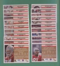 1992 Pacific San Francisco 49ers Football Team Set - $3.00