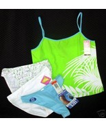 new lot sz S HUE cami C CLUB ALFANI Bikinis MAID Thong Small - $14.00