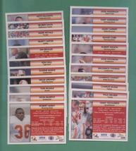 1992 Pacific Tampa Bay Buccaneer Football Team Set - $2.99
