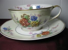 China Haviland Limoges Jewel Cup and Saucer Set - $14.95