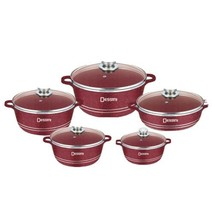 Marble stone aluminum pot cooking set - $130.90
