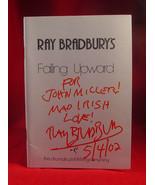 Ray Bradbury FALLING UPWARD play book signed and inscribed - $343.00
