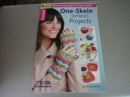 Leisure Arts One-Skein or Less Crochet Projects Booklet by Marly Bird #75495 - $7.91