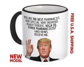 PHARMACIST Gift Funny Trump : Mug Best Pharmacist Birthday Christmas Jobs - $13.37+