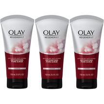 Olay Regenerist Facial Cleanser Detoxifying Pore Scrub Exfoliator,5 Oz (... - $25.18