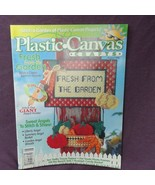 Plastic Canvas Crafts Magazine August 1998 Garden Angels Wreath Pet Phot... - $4.95