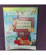 Plastic Canvas Crafts Magazine August 1998 Garden Angels Wreath Pet Phot... - $4.95
