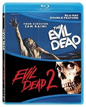 Evil Dead 1 & 2 Double Feature [Blu-ray] New