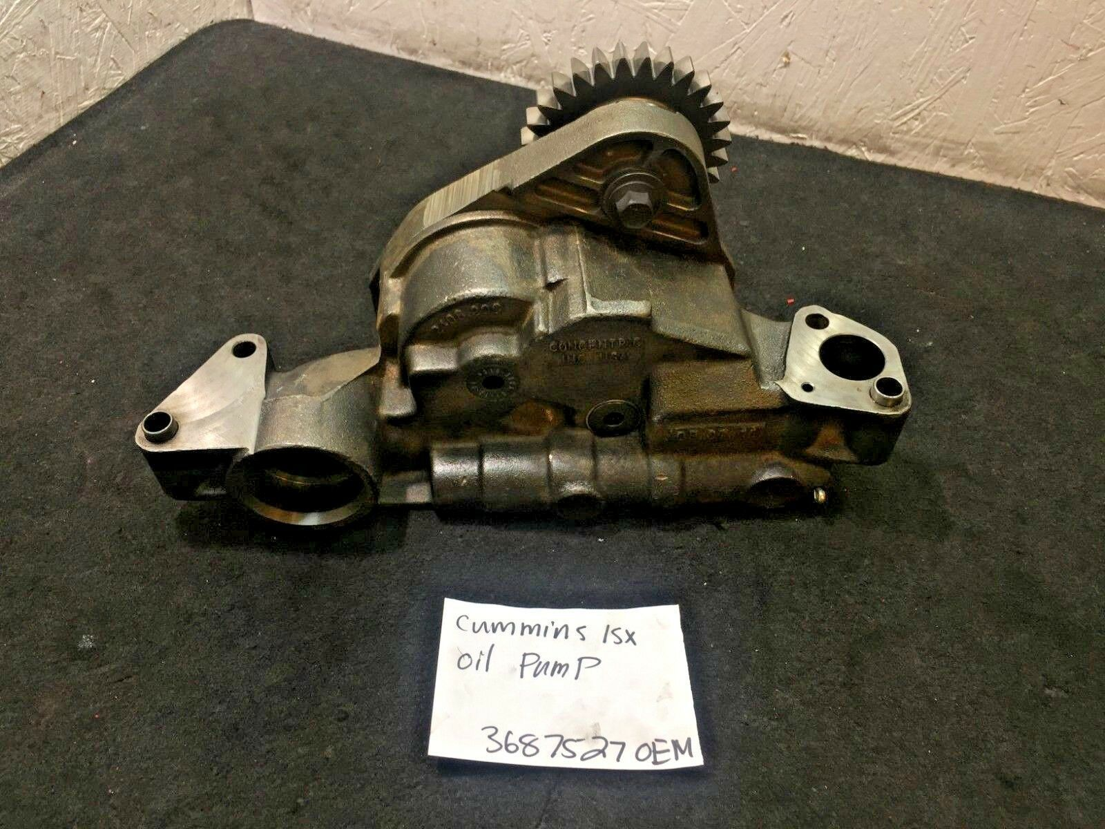 Cummins Diesel Engine ISX 15 Oil Pump  3687527 OEM