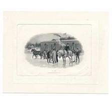 """1920's Die Proof Vignette, """"Ice Harvesting"""", by Robert Savage - $99.00"""