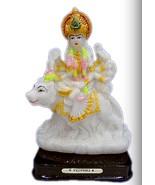 Unbreakable Table TOP Rubber PVC Durga / Mata Rani Show Piece / Idol / S... - $22.99