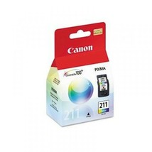 Canon CL-211 (2976B001) Color Ink Cartridge  For Pixma MP & MX Series Pr... - $39.55