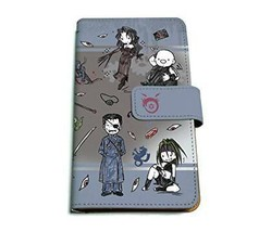 FULLMETAL ALCHEMIST 02 black (graph Art Design) notebook-type multi-case... - $60.45