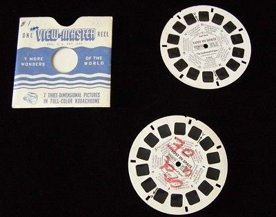 Lost In Space View Master Reel 1 & 3 1967 viewmaster