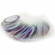 Nail Art Acrylic UV Gel Pens Dotting Painting Set Design 54pcs image 11