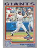 Edgardo Alfonzo ~ 2004 Topps Opening Day #2 ~ Giants - $0.20
