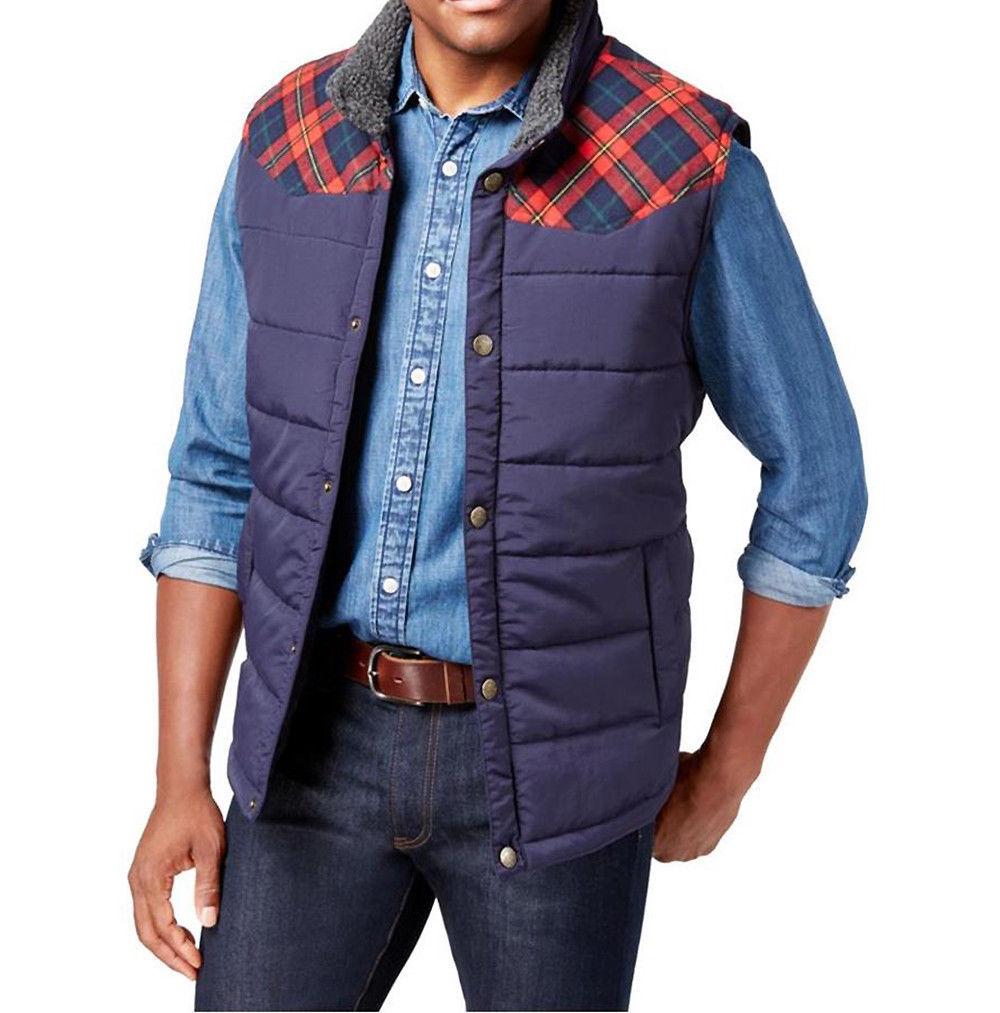 Weatherproof Navy Mens Button-Front Knit Shorts Blue XL