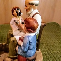Vintage 1980 Norman Rockwell Toy Maker Figurine Collector's Club  image 2