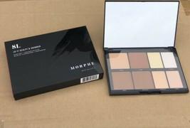 NIB Morphe 8L Lo-Fi Sculpt & Shimmer Highlight + Contour FAIR TO MEDIUM ... - $21.75