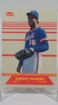 1987 (METS) Fleer Headliners #3 Dwight Gooden - $0.98