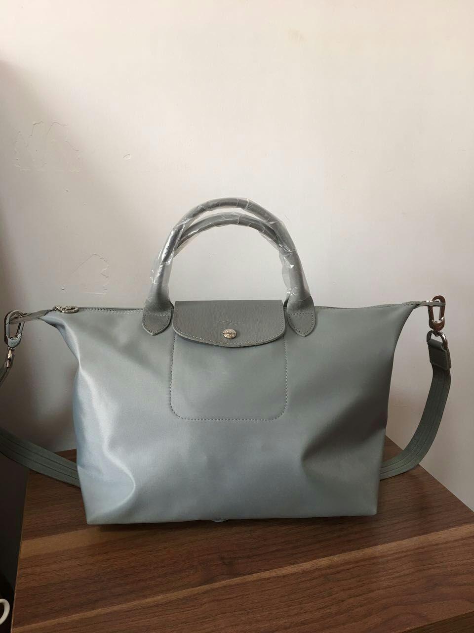 cf6cc6d2fd2 Longchamp Le Pliage Neo Medium Handbag Pebble Galet 1515578274 - $135.00 -  $165.00