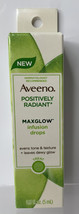 Aveeno Positively Radiant MaxGlow Infusion Drops 5 ml Each Evens Tone/Te... - $8.86