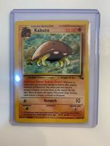Pokemon Card  Fossil Kabuto  #50/62 - NM / M - - $1.58