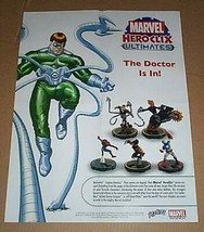 Marvel Heroclix figure poster 1:Spider-man,Captain America,Wolverine,Ghost Rider - $19.79