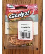 "Berkley Gulp 1""/2cm Fish Fry Natural 20ct RARE VINTAGE-SHIP N 24h - $12.75"