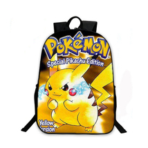 Pokemon pikachu backpack schoolbag for kid shoulder daypack 9 thumb200