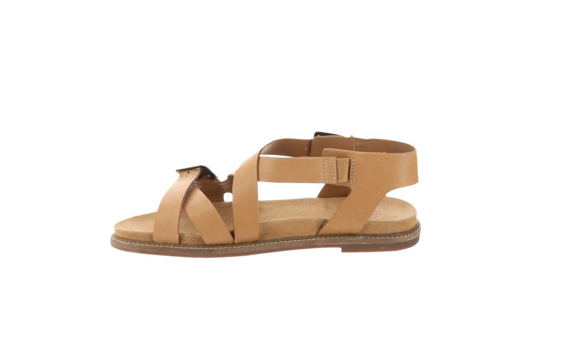 754d87db2b Clarks Artisan Leather Sandals Corsio Bambi Light Tan 8.5M NEW A291722 -  $58.39
