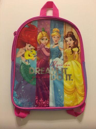 b571d5519f35 Disney Princess Mini Backpack Girls 10