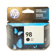 Genuine HP 98 Black Ink Cartridge C9364WN Exp. 09/18 - $9.87