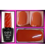 NEW OPI GEL COLOR NAIL POLISH SOAK OFF LED UV GELCOLOR GC V26 IT'S A PIAZZA CAKE