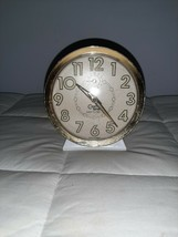 Cosmo Time Easy To See Wind Up Alarm Clock Vintage Luminous - $12.19