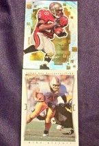Tampa Bay BuccaneersMike Alstott and Warrick Dunn RB Football Trading Cards AA- image 2