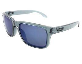 Neuf Oakley Sport Holbrook Noir Cristal W / Ice Iridium 9102-47 - $186.16