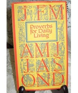 Poverbs For Daily Living-Peter Pauper Press- Hardcover-1965 - $6.00