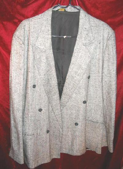 Mens Cotler Gray Suit Sports Jacket Coat Sz 42 USA