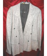Mens Cotler Gray Suit Sports Jacket Coat Sz 42 USA - $30.00