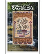 Sweet Liber-Tea patriotic cross stitch chart Si... - $9.00