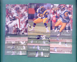 1994 Pacific Collection Los Angeles Rams Football Set  - $2.50