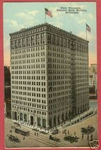Milwaukee Wisconsin First National Bank WI Postcard BJs - $6.50