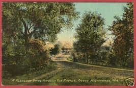 Milwaukee Wi Ravine Drive Road Wisconsin Bergmann B Js - $7.50